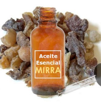 Aceite esencial de mirra puro